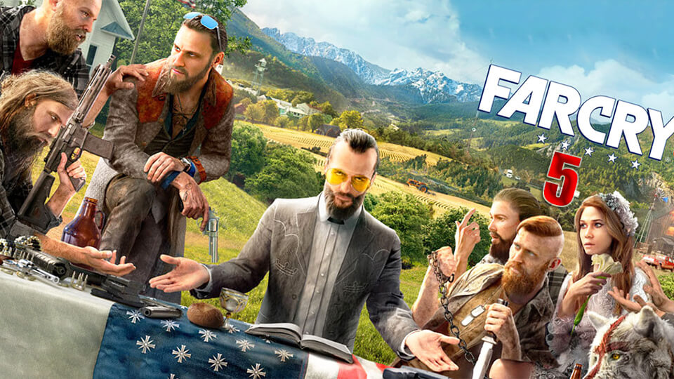 Test nastrojka i optimizacija Far Cry 5 na slabom PK