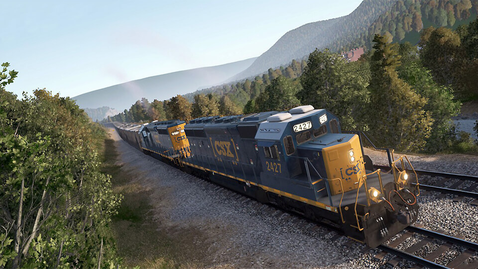 Тест настройка Train Sim World (Baldman) запуск на слабом ПК