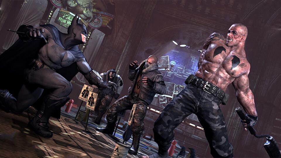 Тест настройка оптимизация Batman - Arkham City запуск на слабом ПК