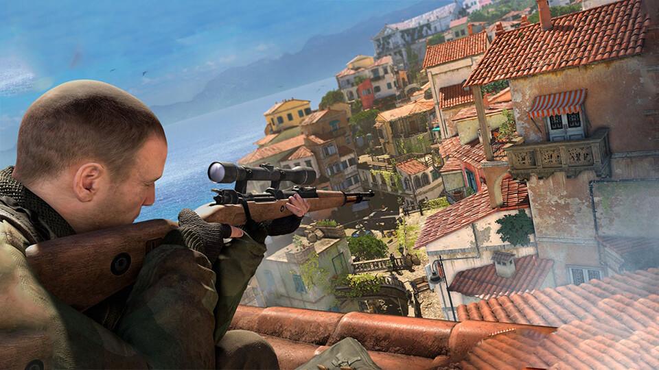 Тест настройка оптимизация Sniper Elite 4 запуск на слабом ПК
