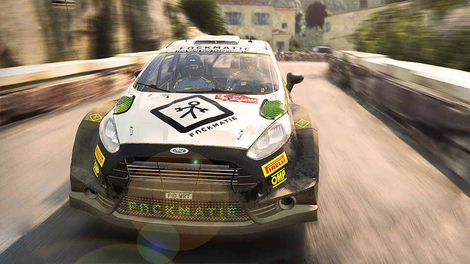 Тест настройка оптимизация WRC 6 FIA World Rally Champ на слабом ПК