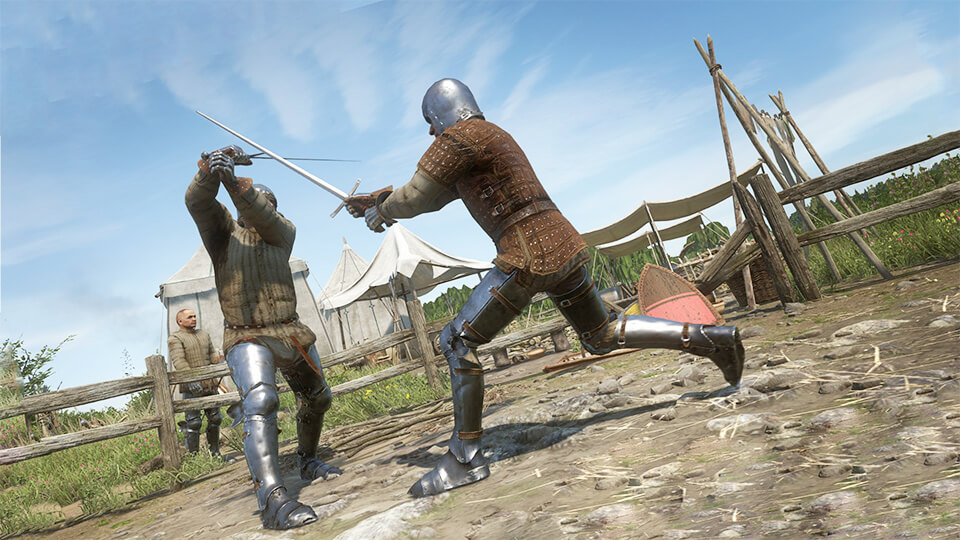 Kingdom Come: Deliverance boevaja sistema