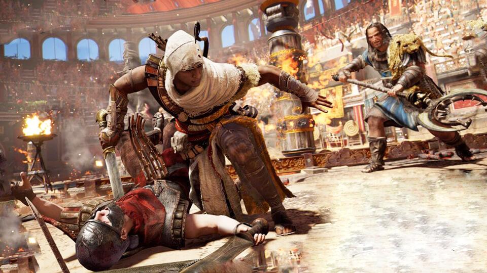 Assassins Creed Origins не запускается, зависает, тормозит, вылетает, синий экран, низкий FPS