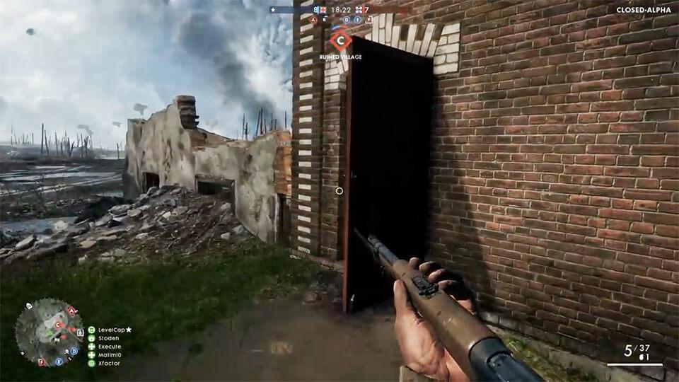 Battlefield 1 39 минут игрового процесса