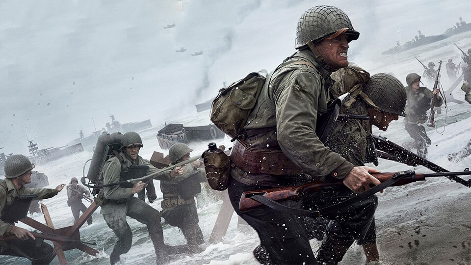 Call of Duty: WW2 zapusk mul'tipleera i rezhim Zombi