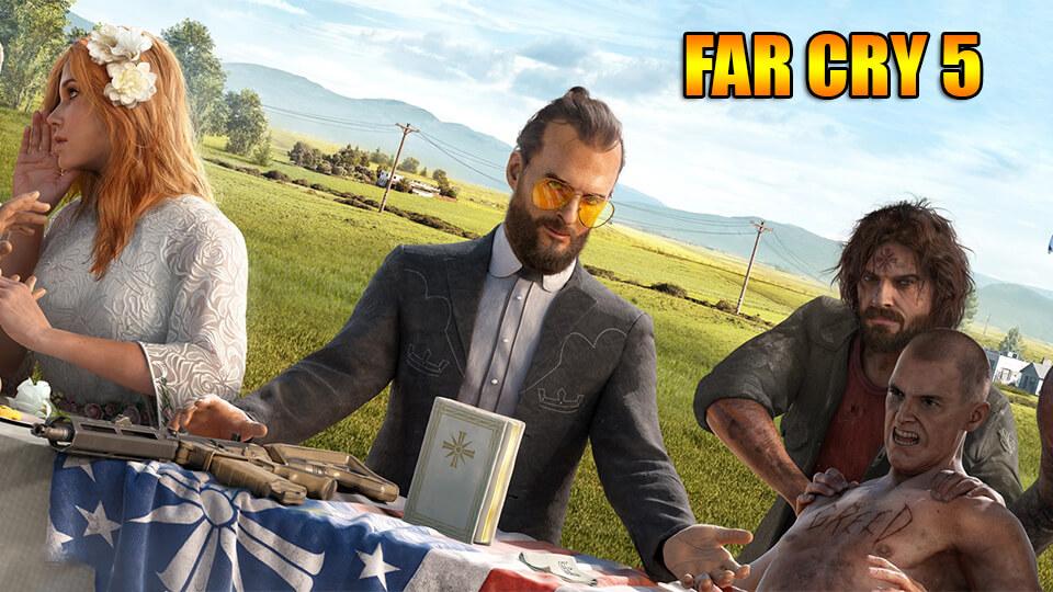 Far Cry 5 ошибка error 000001