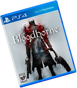 экшн RPG BloodBorne на PlayStation 4 концепция