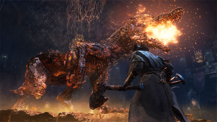 экшн RPG BloodBorne на PlayStation 4 вышел