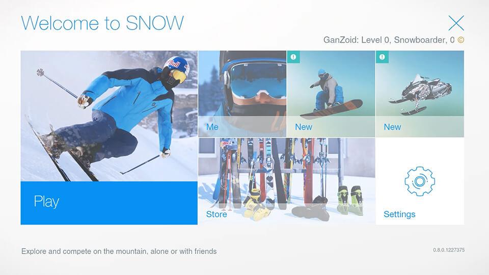 Snow симулятор горнолыжника играем бесплатно