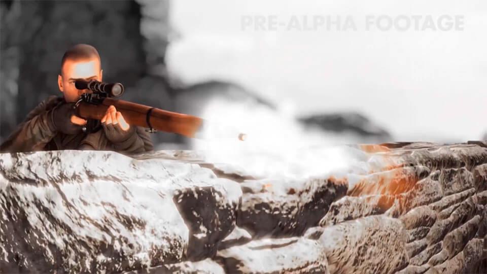 Зрелищный ролик нового Sniper Elite 4