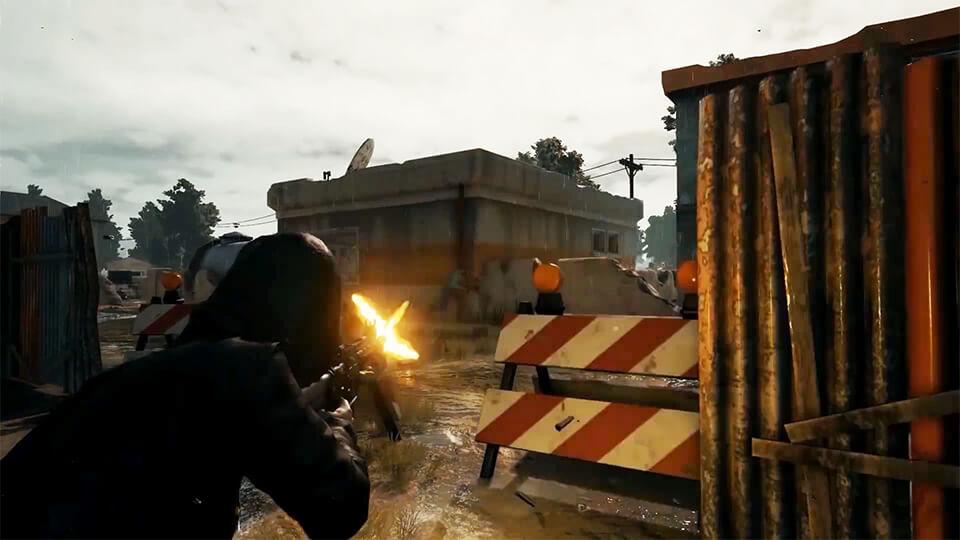 PlayerUnknown's Battlegrounds test vseh videokart
