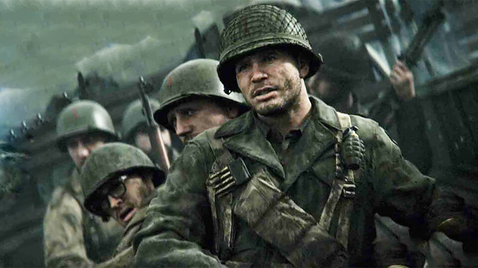 Nastrojka test i optimizacija Call of Duty: WW2 na slabom PK