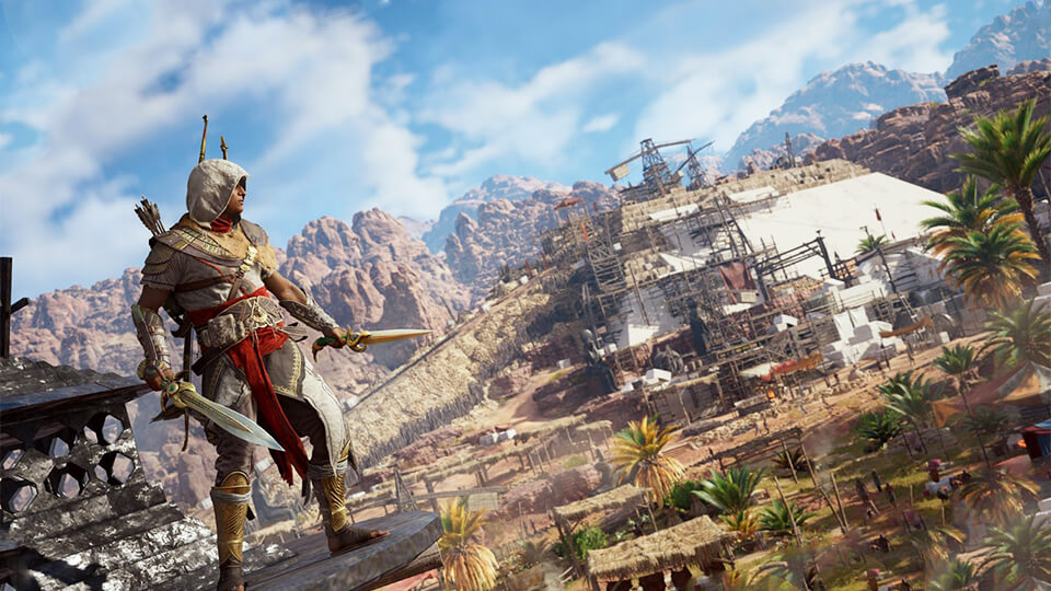 Тест настройка оптимизация Assassin's Creed: Origins на слабом ПК