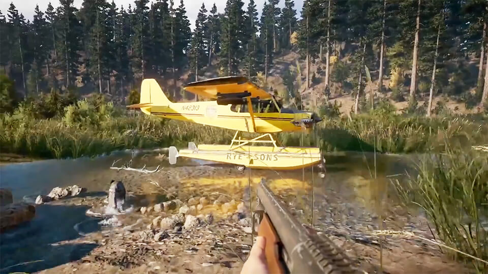 Far Cry 5 top-5 novovvedenij