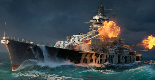 Выход World of Warships