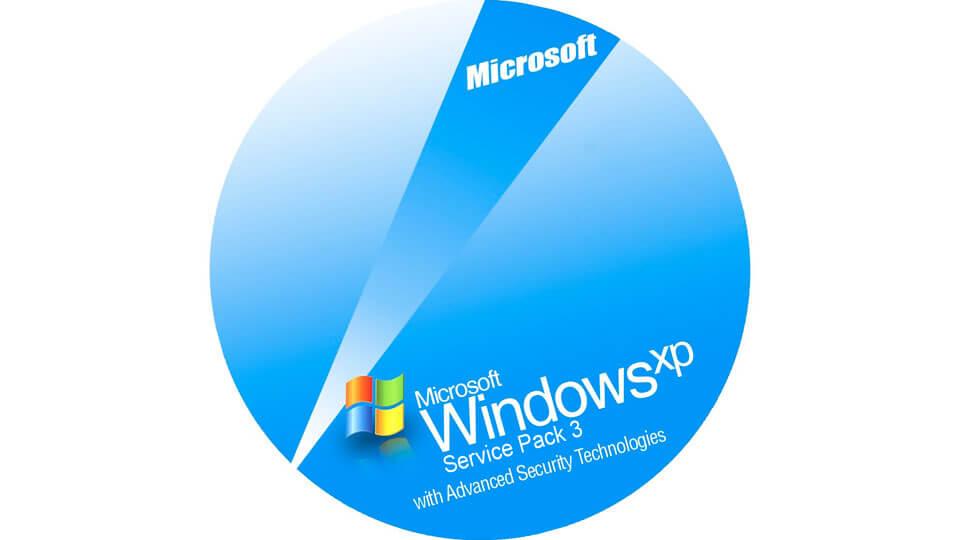 Windows XP всё ещё в тройке лидеров