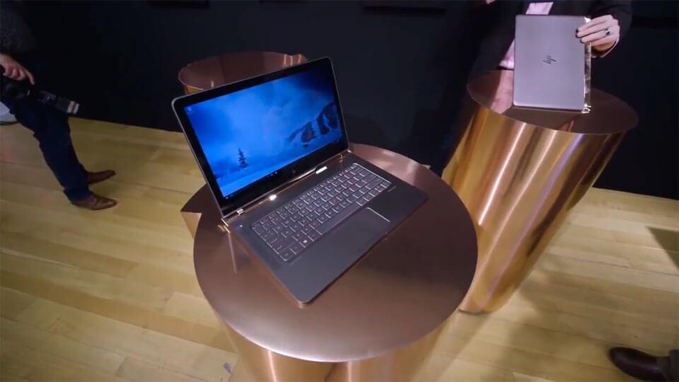 Новый HP Spectre 13 бросает вызов ультратонким ноутбукам