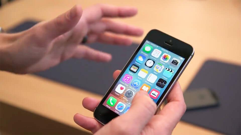 Все модели iPhone в одном ролике