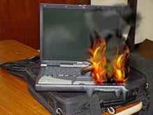 сильно греется ноутбук в Гомеле