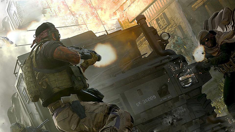 Call of Duty Modern Warfare 2019 na slabom PK