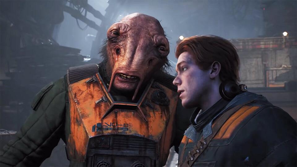 Igrofil'm Star Wars Jedi Fallen Order vse katsceny