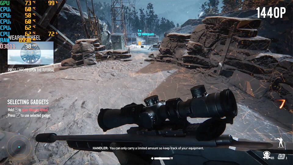 Sniper Ghost Warrior Contracts na slabom PK