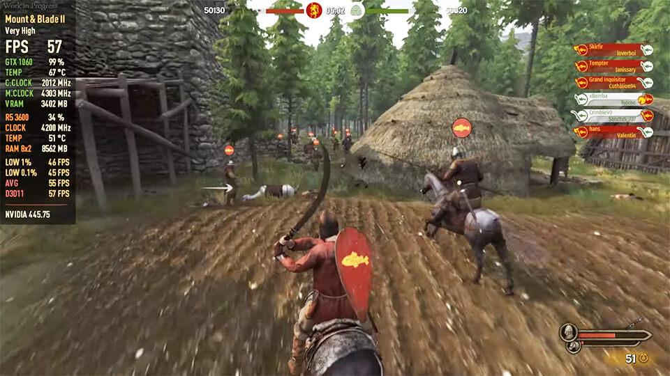 Mount & Blade 2 Bannerlord na slabom PK