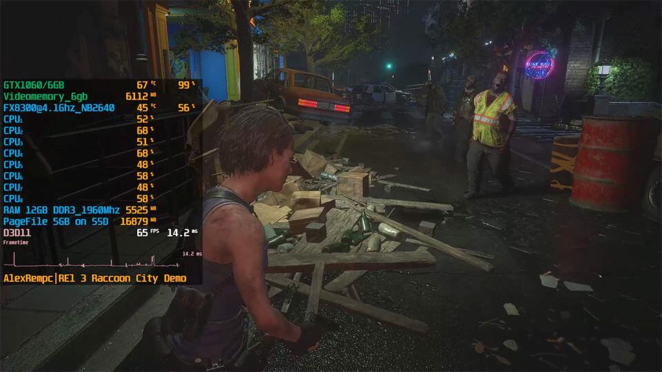 Resident Evil 3 на слабом ПК