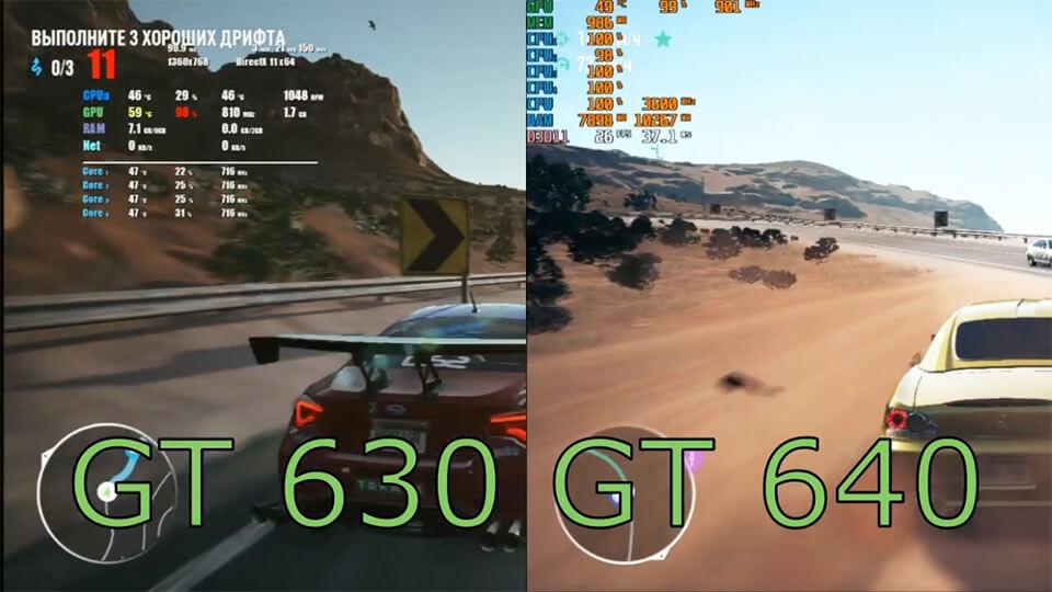 GT 640 1 GB obhodit GT 630 4 GB