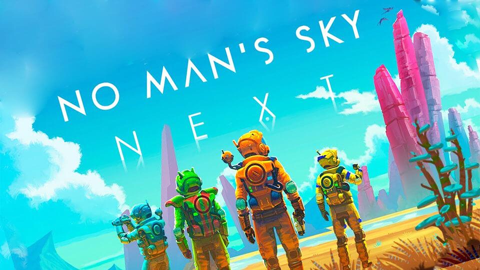 No Man's Sky NEXT narodnyj test, zapusk na slabom PK