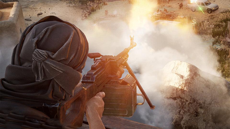 Insurgency: Sandstorm na slabom PK