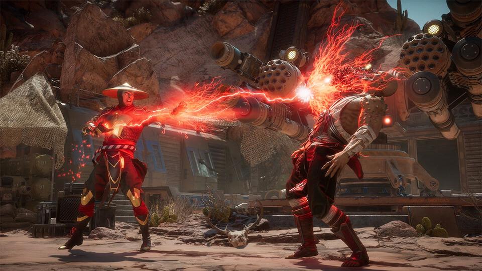 Mortal Kombat 11 na slabom PK