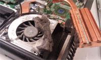 Чистка ноутбука hp от пыли