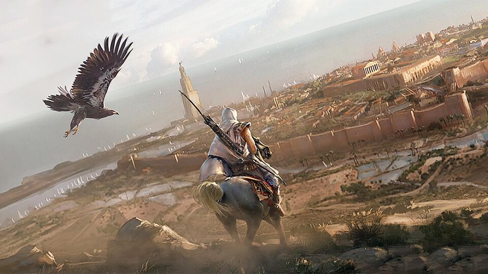 Assassin's Creed: Origins CPY (Xatab, Qoob, VickNet) ne rabotajut sohranenija – reshenie!