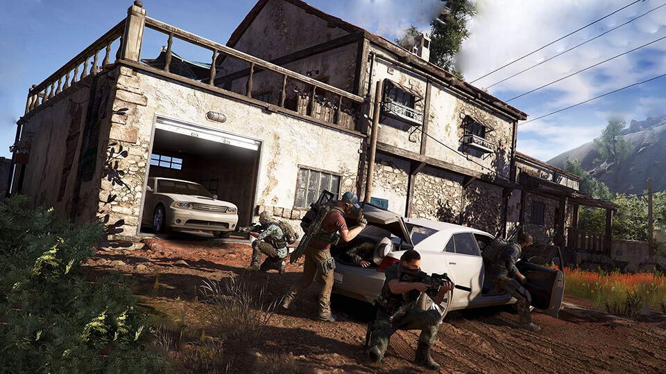 Tom Clancy's Ghost Recon Wildlands obzor i mnenie