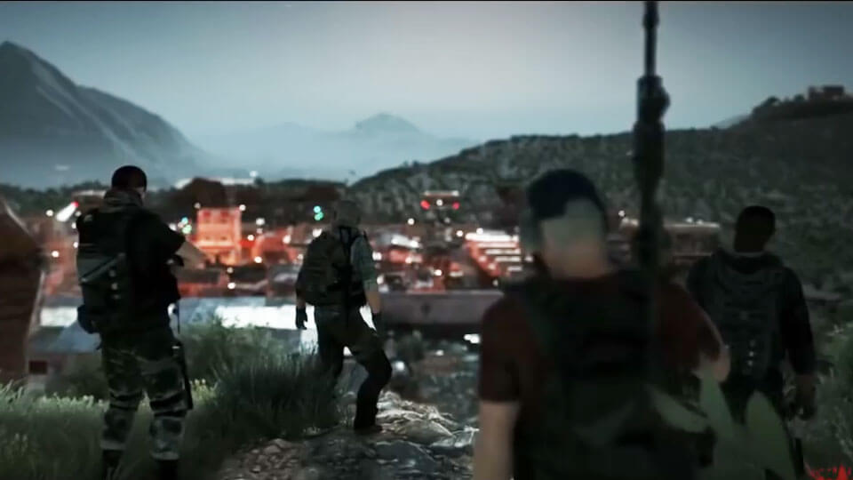 Ghost Recon: Wildlands видео геймплея
