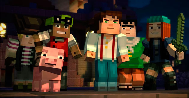 Обзор Minecraft: Story Mode