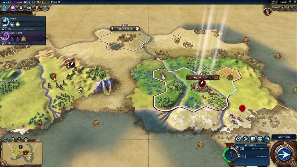 Системные требования Civilization 6