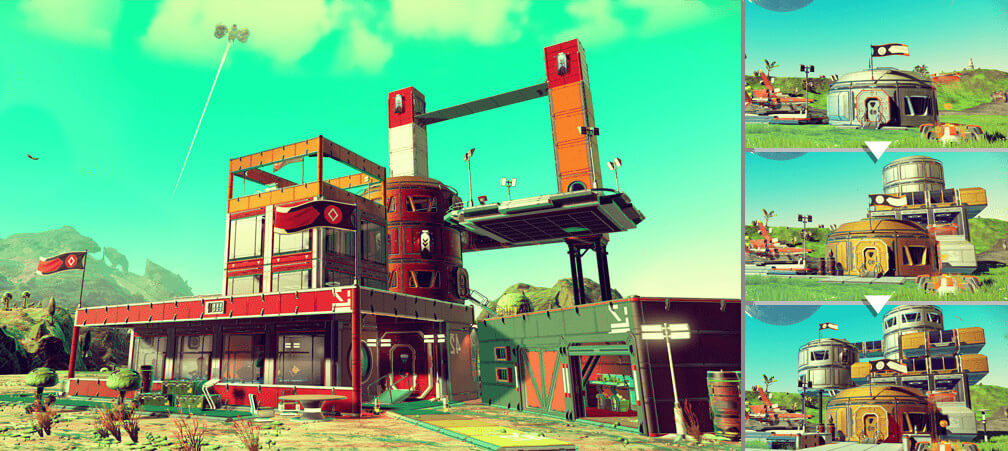 Тест No Mans Sky Atlas Rises update 1.3 на слабом ПК, видео