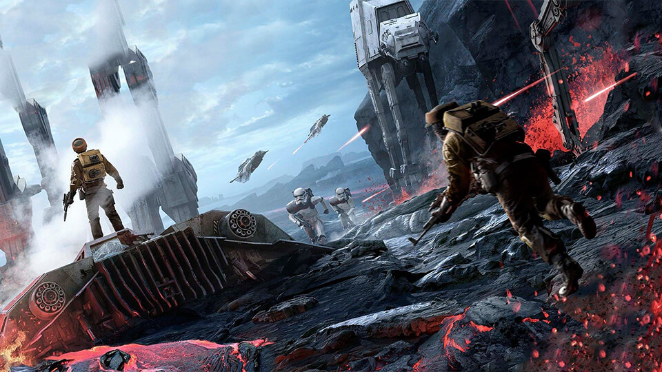 STAR WARS Battlefront настройка запуск на супер слабом ПК