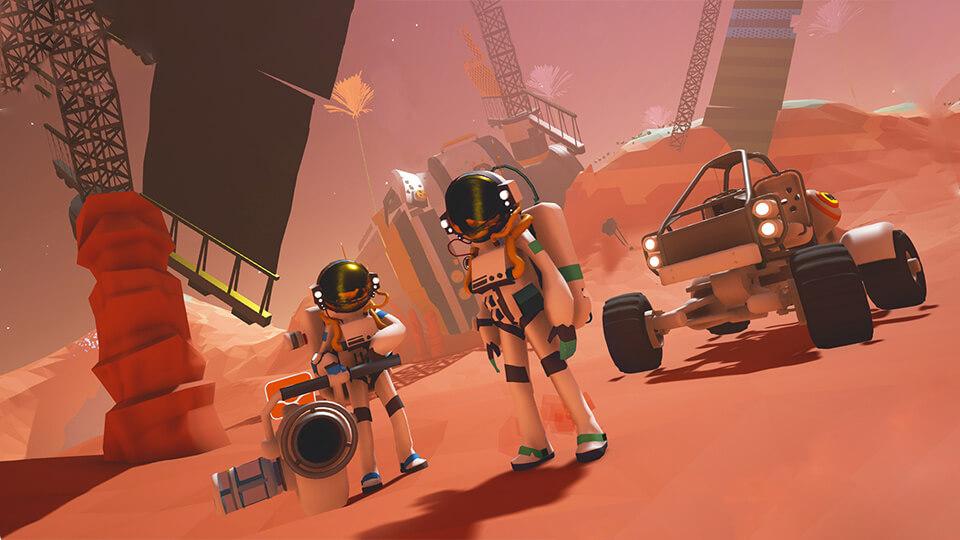 Тест настройка оптимизация Astroneer запуск на слабом ПК
