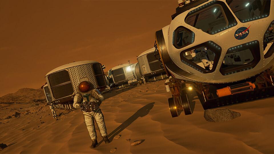 Тест настройка оптимизация Mars 2030 запуск на слабом ПК