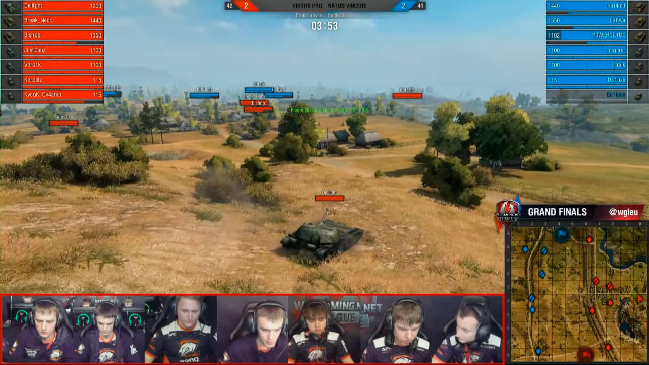 Wargaming League The Grand Finals
