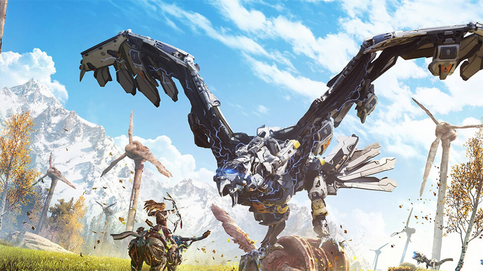 Horizon Zero Dawn na PK besplatno v PS Now