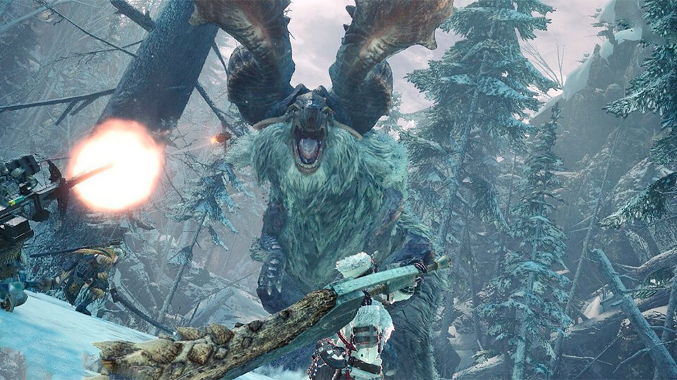Monster Hunter World Iceborne s patchem 10.12.00 poluchil novye tekstury i DX12