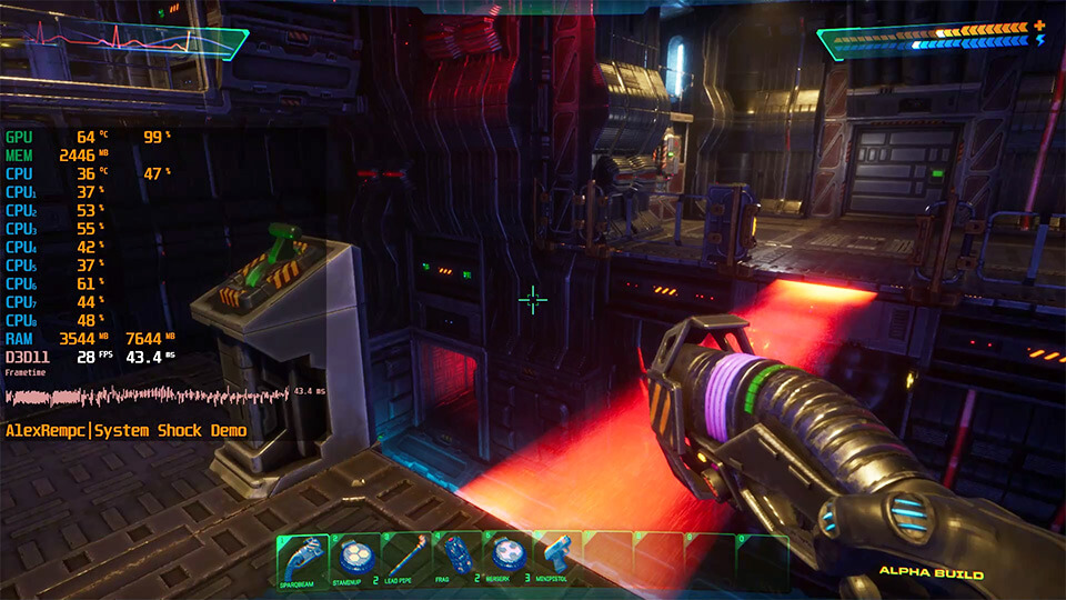 System Shock Remastered na slabom PK