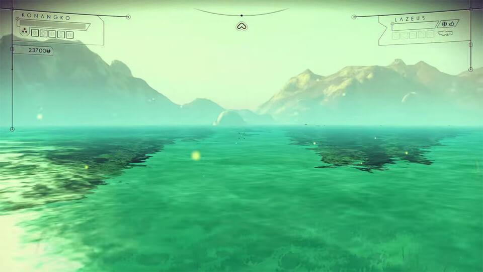 Мод на No Man's Sky - вода высокого качества (HQ Water – Effects)