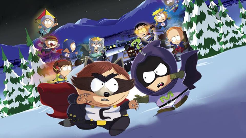 Тест настройка оптимизация South Park: The Fractured But Whole на слабом ПК