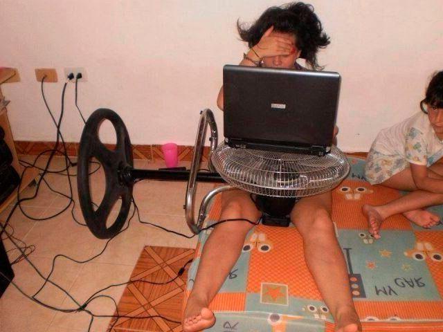 Как охладить ноутбук