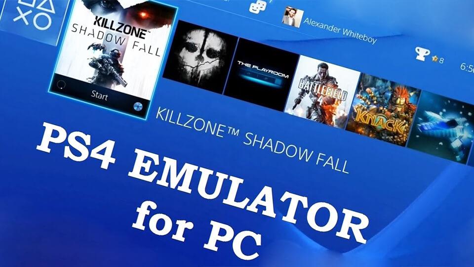 Jemuljator PS4, gde skachat', novosti